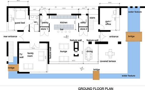 modern home floorplans house interior design modern house plan images