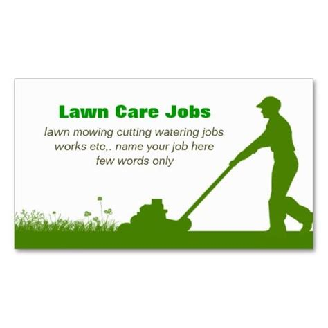 197 best lawn care business cards images on