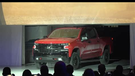 Chevrolet Reveals 2019 Silverado 1500 At North American