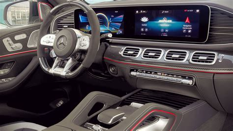 Spotted for the first time in velika plana. 2021 Mercedes AMG GLE 63 S Interior Wallpaper