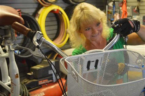 Backyard Bike Shop Longboat Key - backyard bike shop co owner becomes co mechanic longboat