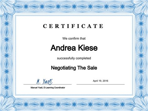certificate courses create course certificates in powerpoint