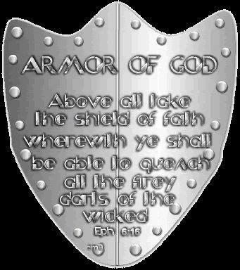 Christian Armor of God Tattoo