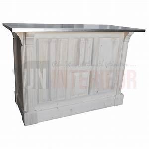 meuble de cuisine brut peindre comptoir de cuisine en pin With deco cuisine pour meuble en pin massif