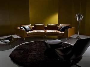 add look canape cuir italien vente en ligne italy With tapis champ de fleurs avec canapé haut de gamme cuir
