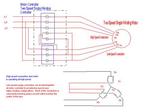 2 speed 3 phase motor wiring diagram agnitum me