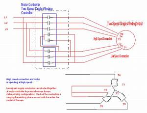 Two Speed 3 Phase Motor Wiring Question