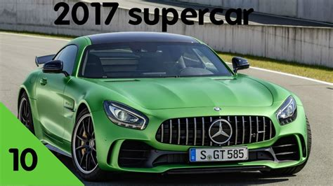 Top 10 New Supercars 2017