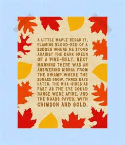 Autumn Fall Quotes Sayings