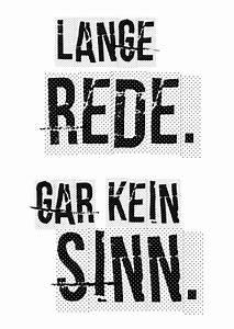 Schwarz Weiß Sprüche : lange rede gar kein sinn spr che zitate echte postkarten online versenden ~ Orissabook.com Haus und Dekorationen