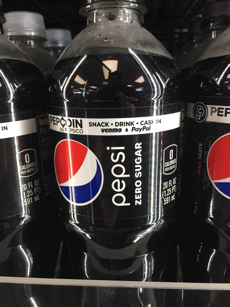 Updated Pepsi Zero Sugar 20oz Bottle Label Tofizzornottofizz