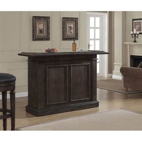 Buy Home Bar by Valore Riverbank 70 Inch Bar American Heritage Billiards