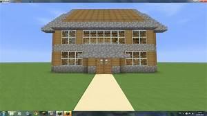 Maison En Bois Et En Pierre Architecture Minecraft