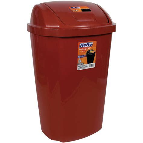 compost bin kitchen kitchen trash can 13 5 gallon hefty swing lid waste