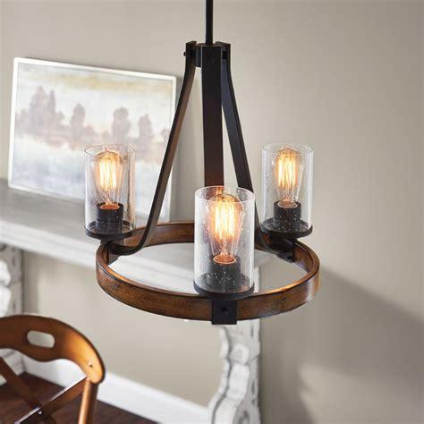 Black Chandelier Kitchen by Shop Kichler Lighting Barrington 17 99 In 3 Light