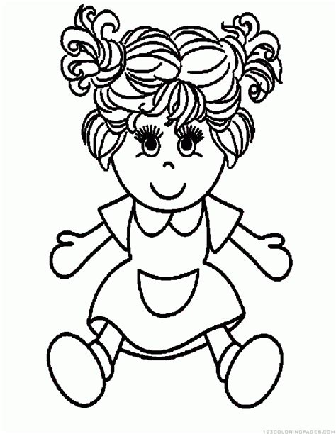 pinypon doll pages coloring pages