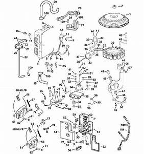 Evinrude Electrical System Parts For 2004 225hp E225fpxsrb
