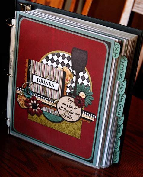 recipe binder recipe book diy diy cookbook