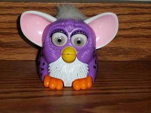 McDonald's Furbies Purple Furby with Spots and White Hair ...