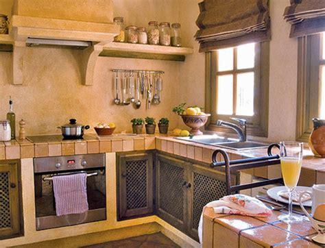 decoracion de cocinas pequenas rusticas