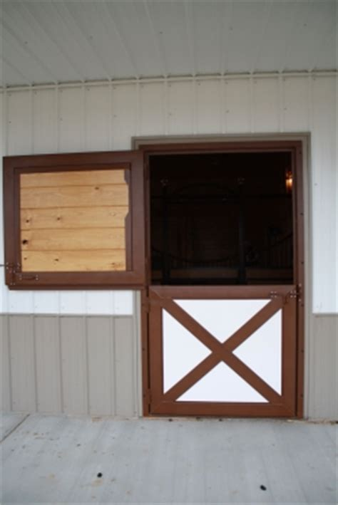 dutch doors  windows rockin  equine custom horse stalls