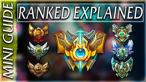 League Of Legends Mini Guide Ranked Explained Youtube