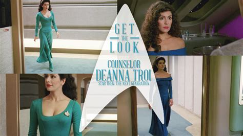 Get Look by Kazzie Athena Get The Look Counselor Deanna Troi
