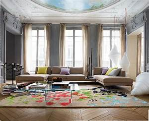 exclamation canape composable par elements roche bobois With tapis enfant avec canape destockage roche bobois