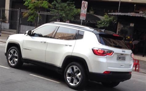 jeep compass 2017 grey new 2017 jeep compass spotted in the flesh in brazil