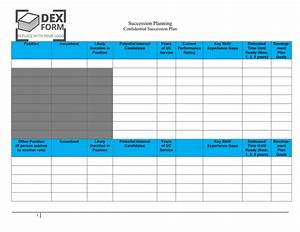 succession planning template in word and pdf formats With emergency succession plan template