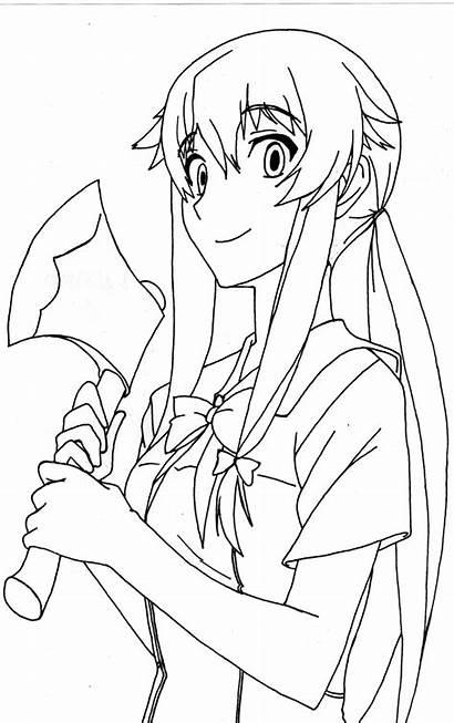 Yuno Gasai Mirai Nikki Deviantart Anime Manga