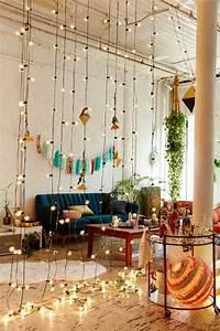 Guirlande Lumineuse Salon : 1001 d co uniques pour cr er une chambre hippie ~ Melissatoandfro.com Idées de Décoration