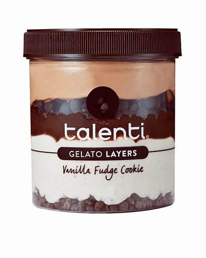 Talenti Vanilla Fudge Cookie Gelato Layers Flavors