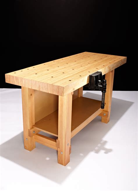 Woodworking Bench by How To Build A Workbench