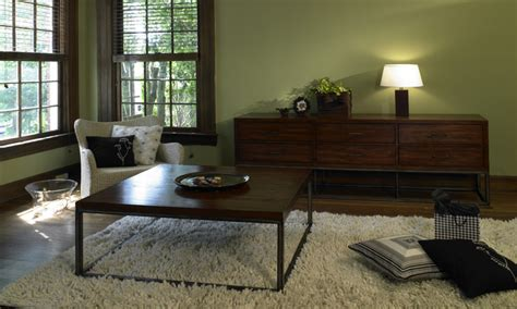 Dark Living Room Furniture, Choosing Paint Color Living