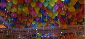 balloon ceiling decor Balloon Celebrations Tops in