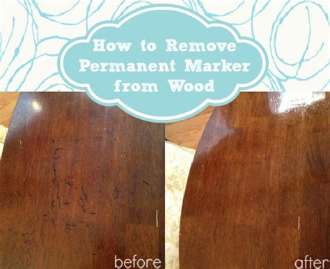 how to get sharpie off wood table how to remove permanent marker from wood home stories a to z