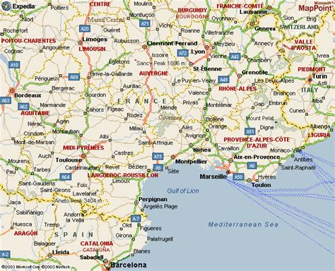 maps  dallas south  france map