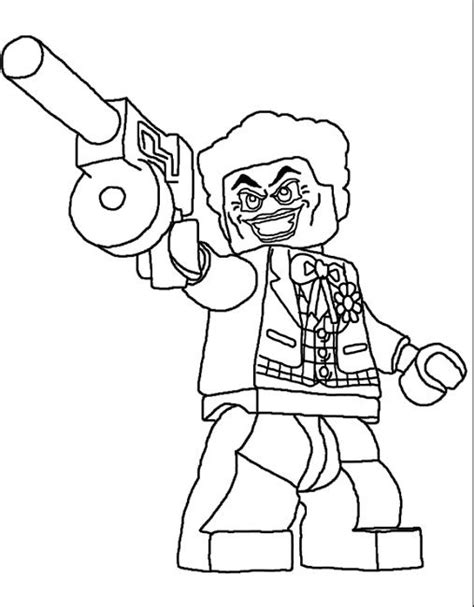 lego joker coloring pages  lego coloring pages