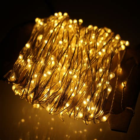 80ft 24m gorgeous led string lights 480led silver wire