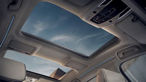 audi  panoramic glass sunroof floods  interior