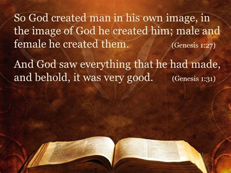 God Created In His Own Image Marriage In Ephesians 5 Ppt