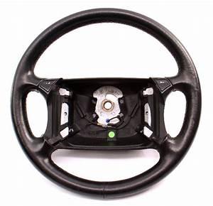 4 Spoke Leather Steering Wheel 90