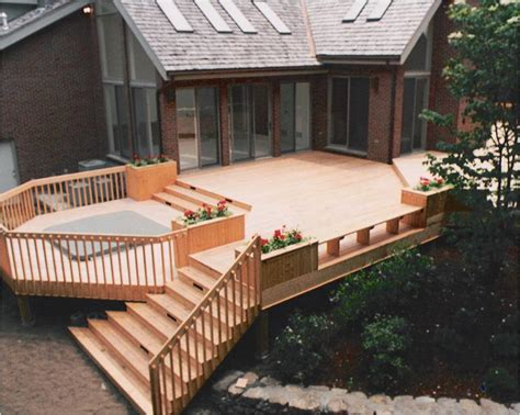deck images central ma porch and decks elmo garofoli construction elmo garofoli jr construction