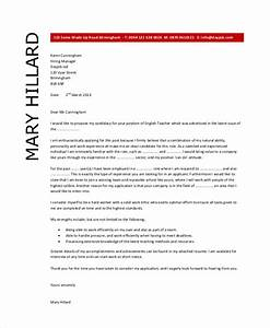 teacher cover letter example 9 free word pdf documents With cover letter for english teaching position