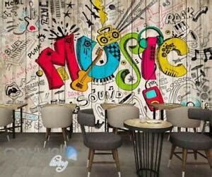 graffiti  color board wall murals wallpaper wall