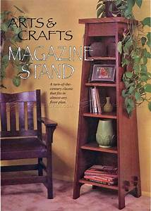 Arts & Crafts Stand Bookcase Plans • WoodArchivist