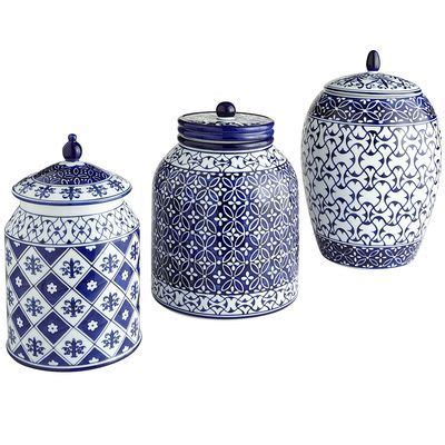 blue kitchen canister blue and white kitchen canisters 28 images blue and