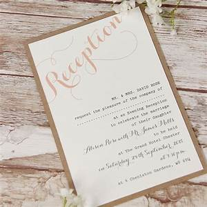 pink flower lace rustic wedding evening invitation cartalia With wedding invitations for the evening