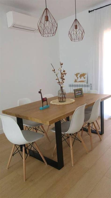 mesa de comedor industrial de henar woodies decoracion